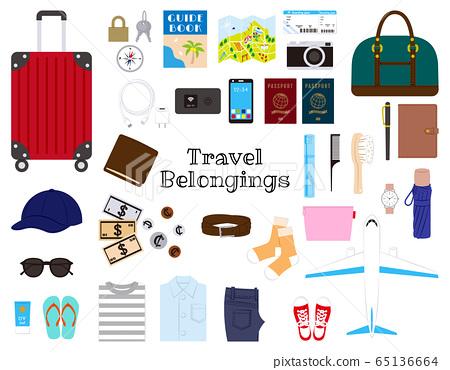 Overseas travel set 65136664