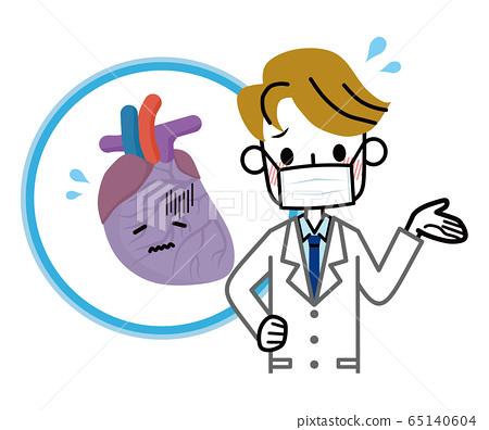 心臟和醫生疾病 65140604