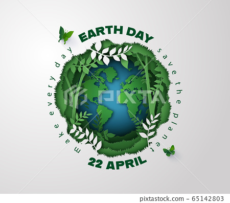 earth day concept 65142803