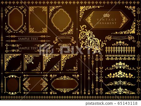复古装饰品集 65143118