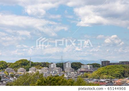 요코하마 교외의 주택가 65144908