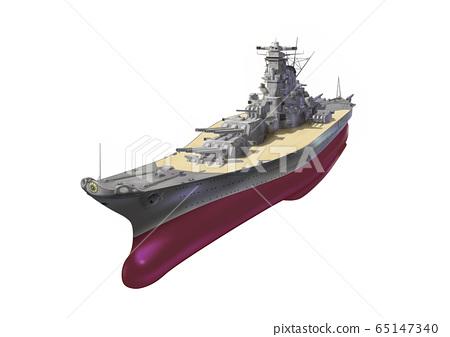 艦戰艦大和號全船體 65147340