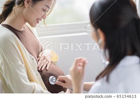 孕婦去醫院 65154613