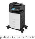 Office multifunction printer MFP, 3D rendering 65156537