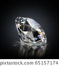 diamond on a black background 65157174