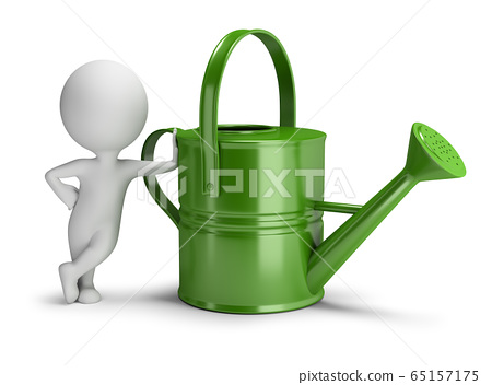 3d small people - watering can 65157175