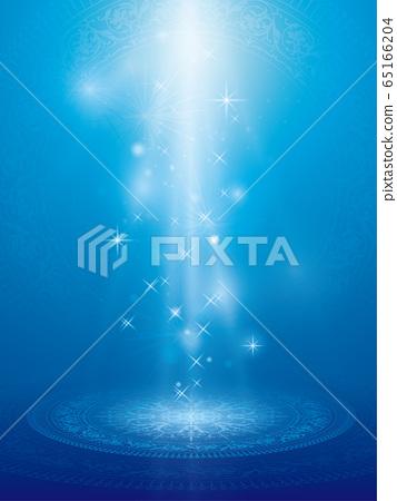 藍色的光抽象背景 65166204