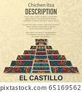 El Castilo floral pattern background 65169562