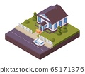 Isometric contactless product delivery, online 65171376