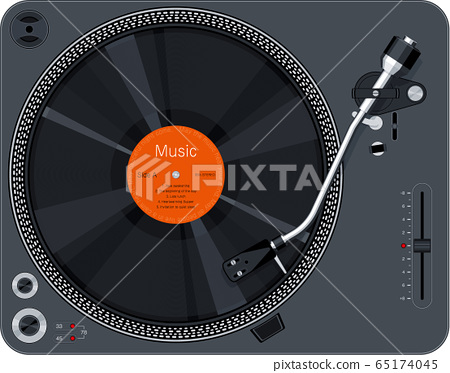 Record player turntable 65174045