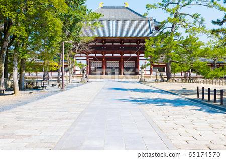 도다이지 중문와 경내 풍경 (나라현 나라시) 65174570