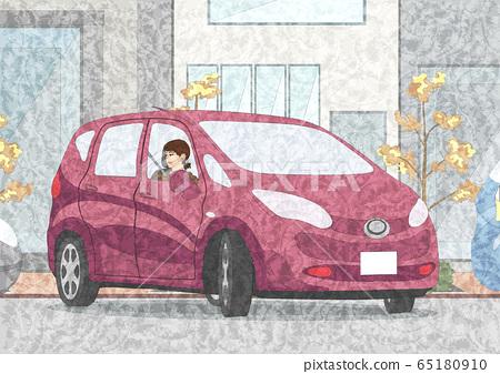 一個女人開車 65180910