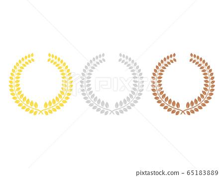 月桂樹拱的插圖 65183889
