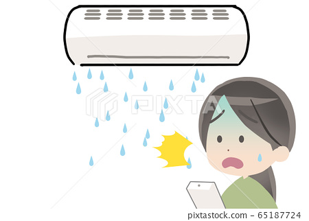 Water leak air conditioner 65187724