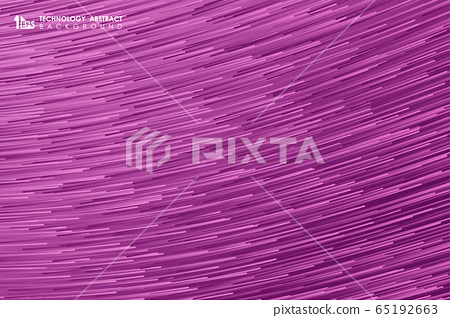 Abstract gradient stripe line pattern design of futuristic artwork background.  65192663