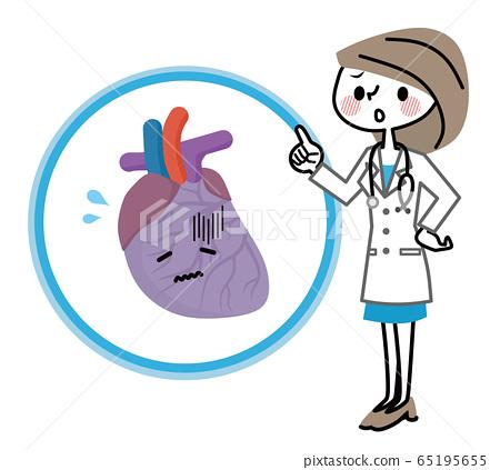 心臟和女醫生疾病 65195655