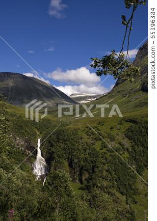 Waterfall near Geiranger 65196384