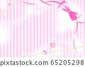 花式絲帶和花邊背景 65205298