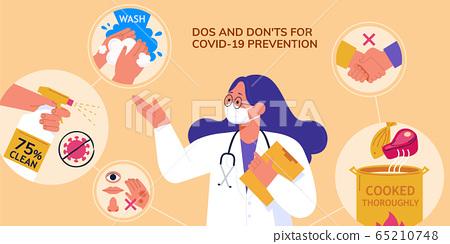 Preventive measures for COVID-19 65210748