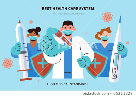 Professional medical support 65211828