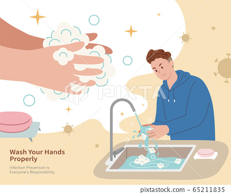 Hygiene protection against COVID-19 65211835