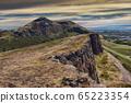 Beautiful landscape of Arthur's Seat mountain in 65223354