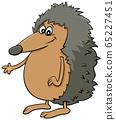 comic hedgehog cartoon animal character 65227451