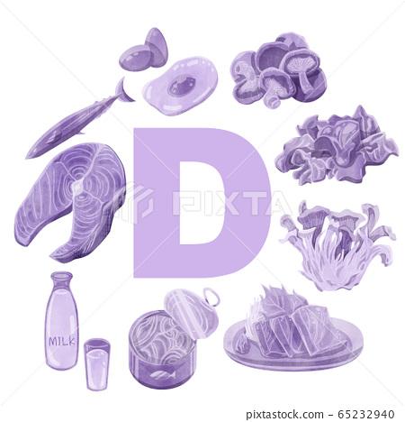 高維生素D的食物 65232940