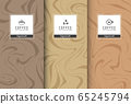 Chocolate bar packaging set. Trendy luxury product branding template with label pattern for packaging. Vector design. 65245794