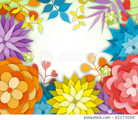 Floral Graphic Design - with Colorful Flowers - for t-shirt, fashion, prints 65273098