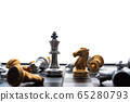 chess board game concept of business ideas and 65280793