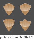 Shapes wooden sign boards 65282321