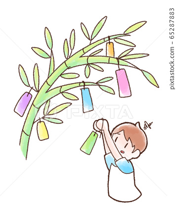 Children who do not receive the strip watercolor 65287883