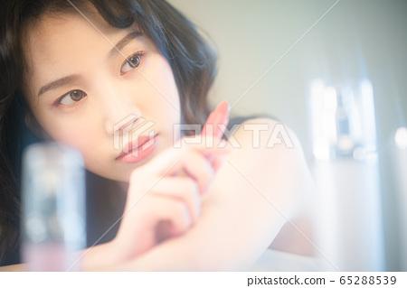 뷰티 미용 여성 아시아인 1인 포트레이트 65288539