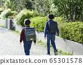 초등학생 등교 하교 65301578