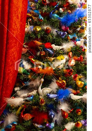 Christmas tree in Vienna, Austria 65302877