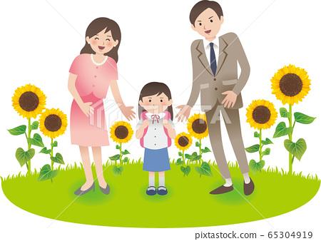 與父母和小學女生的夏季活動 65304919