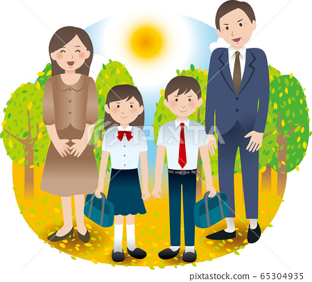 家長和初中兒童的夏季秋季活動 65304935