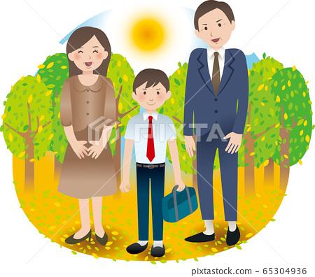 與父母和中學男孩的夏季活動 65304936