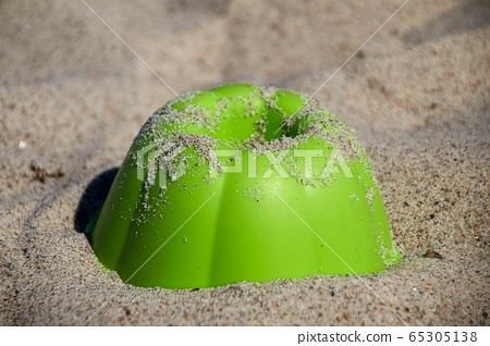 green sand mold in granular sand 65305138