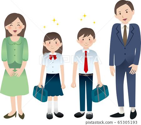 父母和初中生 65305193