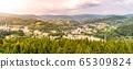 Tanvald - small mountain town in Jizera Mountains, Czech Republic 65309824