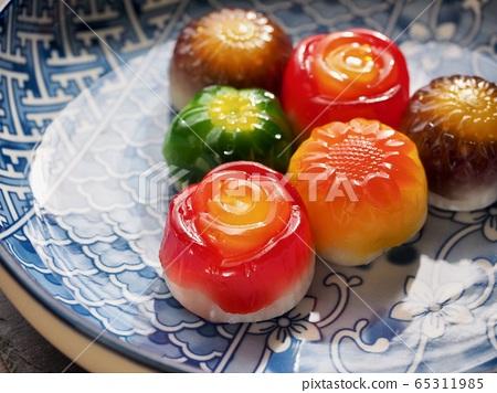 韓國食品花蛋糕 65311985