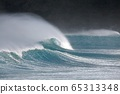 Stormy Waves Breaking 65313348