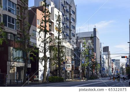 Scenery of the city Harajuku 65322075