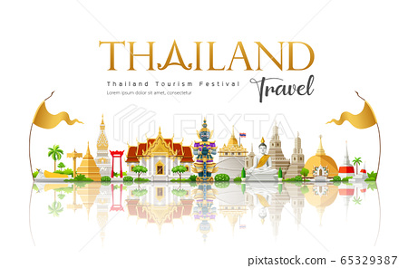 Welcome to The beautiful of Thailand travel building landmark 65329387