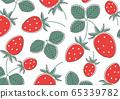 Strawberry pattern 65339782