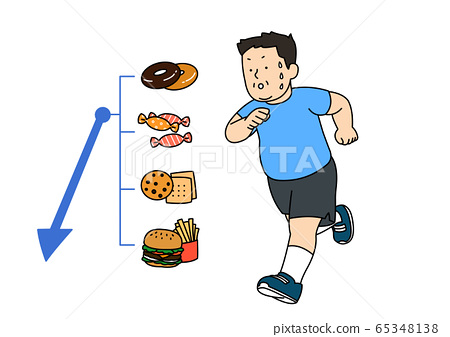 Healthy lifestyle concept, daily routine tips in flat design style illustration 016 65348138