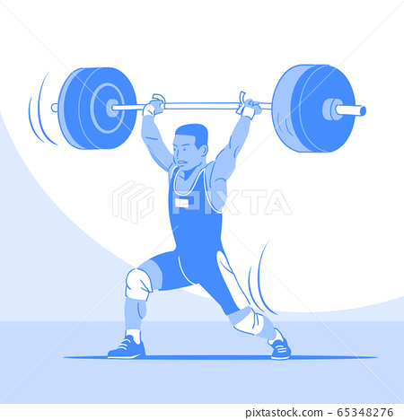 Dynamic sports, Various sports players illustration 060 65348276