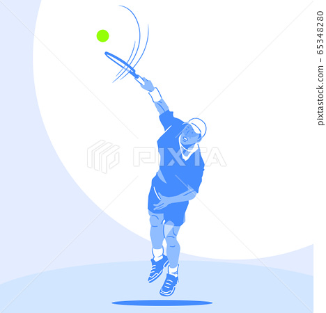 Dynamic sports, Various sports players illustration 046 65348280